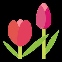 Blomsterbudet skapar vackra buketter